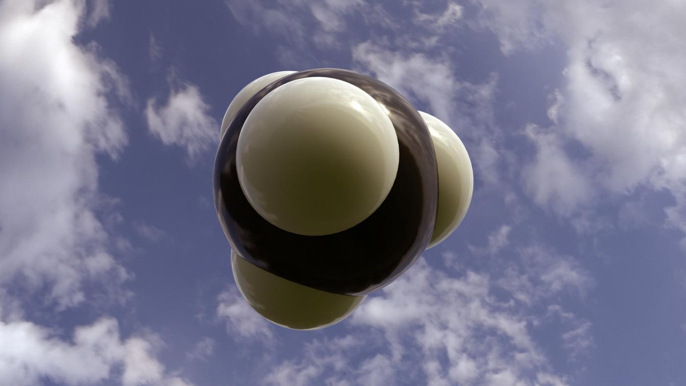 What Is the Shape of the Methane Molecule Called?