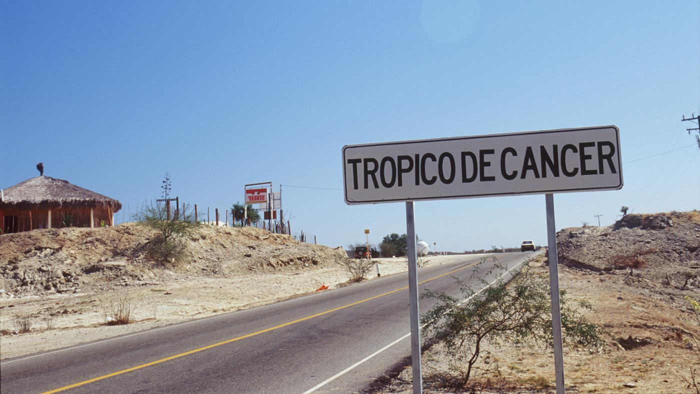 Through Which Hemispheres Does the Tropic of Cancer Pass?