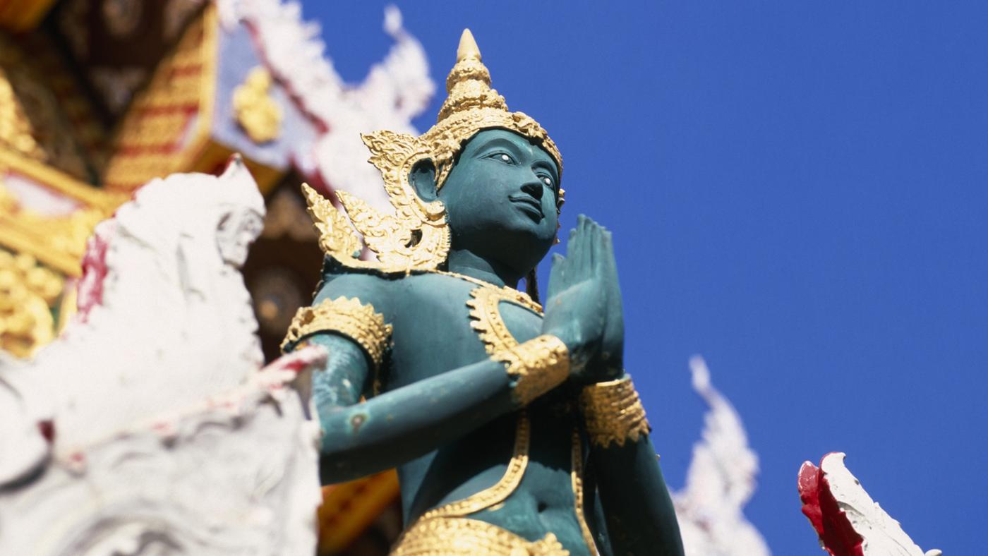 Why Is Rama Blue?