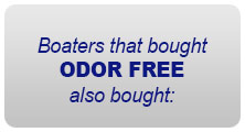 Boaters the bought ODOR FREE also bought: