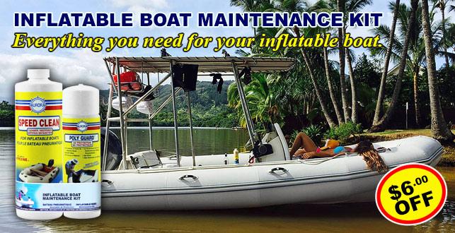 Inflatable Boat Maintenance Kit
