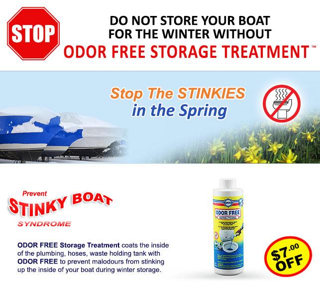Odor Free Storage Treatment