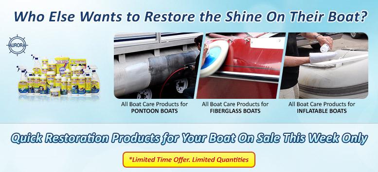 Aurora Marine Boat Care Products