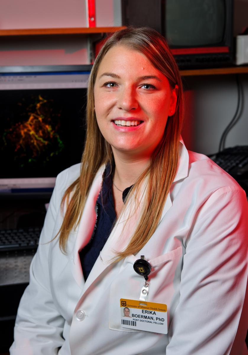 Photo of Erika Boerman, Ph.D.