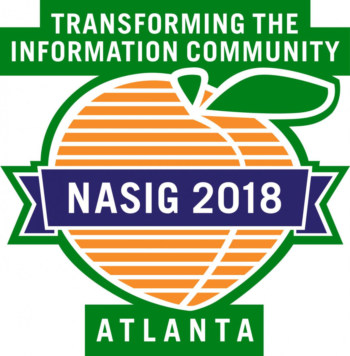 NASIG 2018 Atlanta: Transforming the Information Community