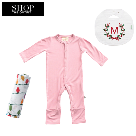 Shop the look for Kyte BABY Solid Footless Romper (Dusk, nb)