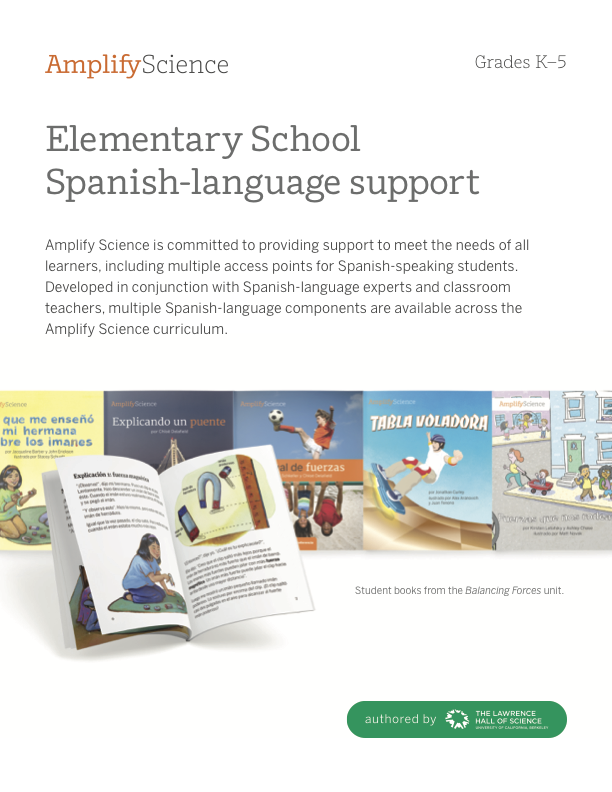 Amplify Science NYC   Spanish Resources   Amplify