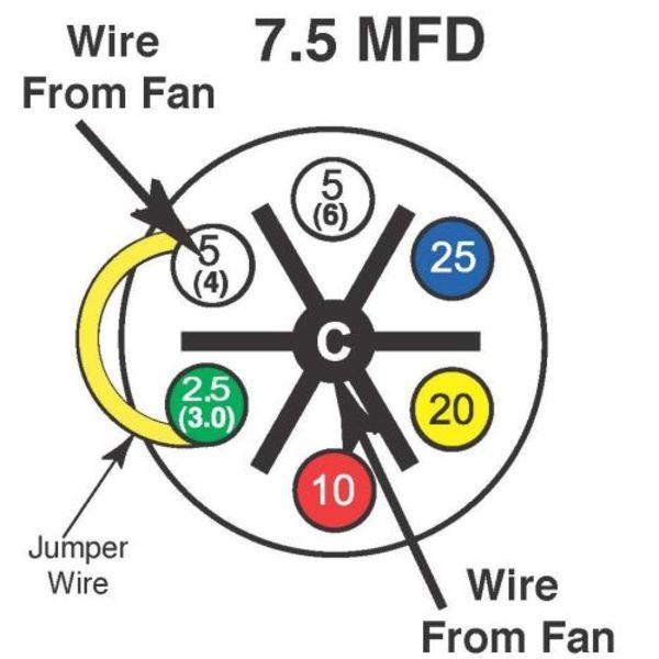7 5 mfd turbo 200 installation instructions amrad engineering, inc Starter Capacitor Wiring microfarad single value capacitor