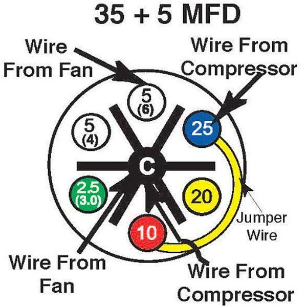 35 5 mfd turbo 200 installation instructions amrad engineering Starter Capacitor Wiring 35 5 mfd