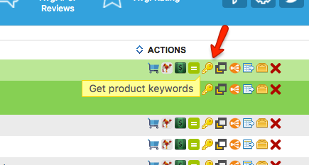 Asinspector Asin Inspector Get Product Keywords Screenshot