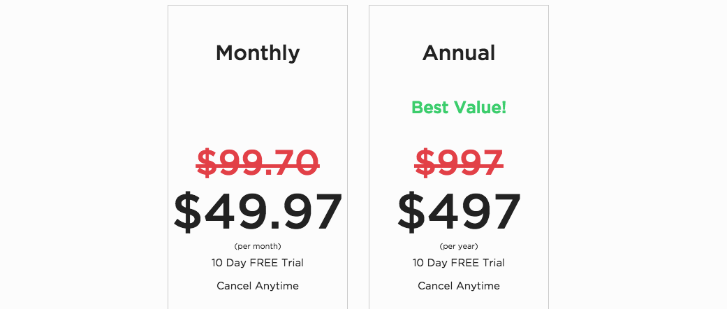 CashCowPro Pricing Plans