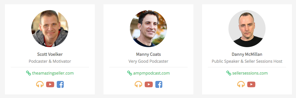 Scott Manny Danny Podcasters