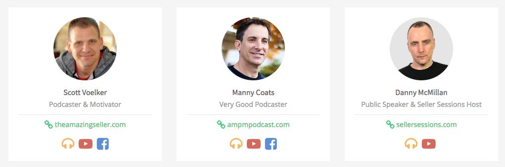 Scott Manny Danny Podcasters