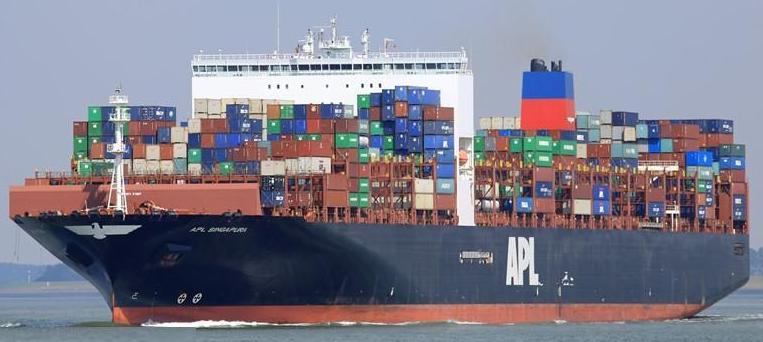 APL Cargo Ship Sea Ocean Container Freight