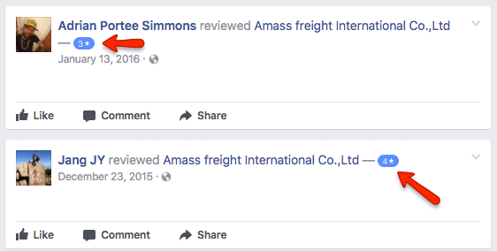 Freightos Amass Bad Negative Reviews