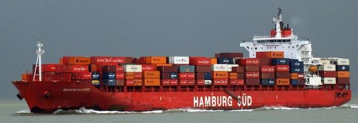 Hamburg Sud Cargo Ship Sea Ocean Container Freight