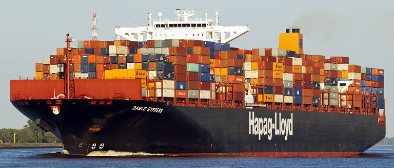 Hapag-lloyd Cargo Ship Sea Ocean Container Freight