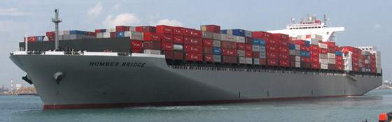 K Line Cargo Ship Sea Ocean Container Freight