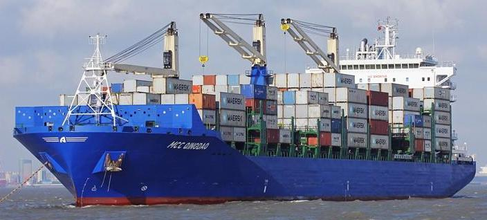 MCC Transport Cargo Ship Sea Ocean Container Freight