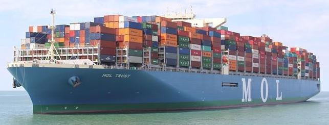 MOL Cargo Ship Sea Ocean Container Freight