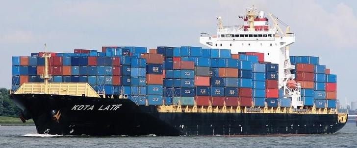 PIL Cargo Ship Sea Ocean Container Freight