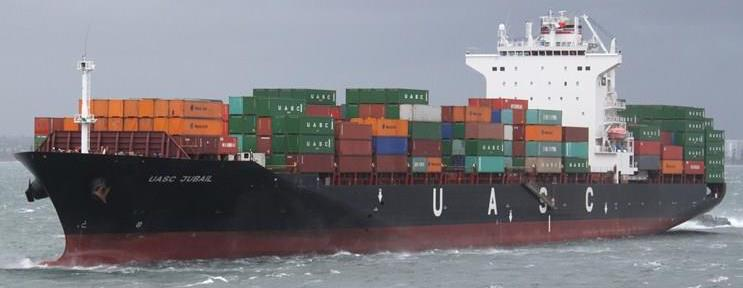 UASC United Arab Shipping Cargo Ship Sea Ocean Container Freight