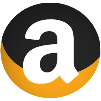 Amazon Logo Redesigned Round Transparent