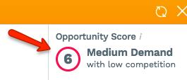 JungleScout Opportunity Score