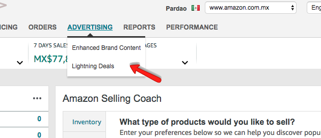 Amazon Seller Central PPC Sponsored Ads in Mexico