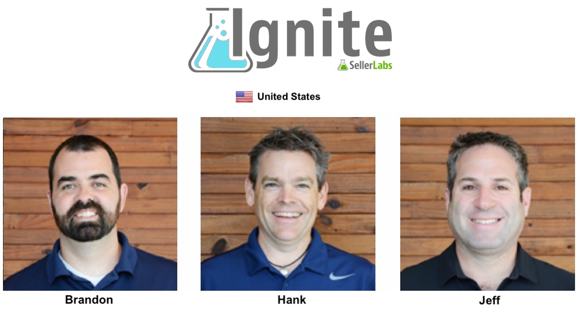 Seller Labs Ignite Founder and his team