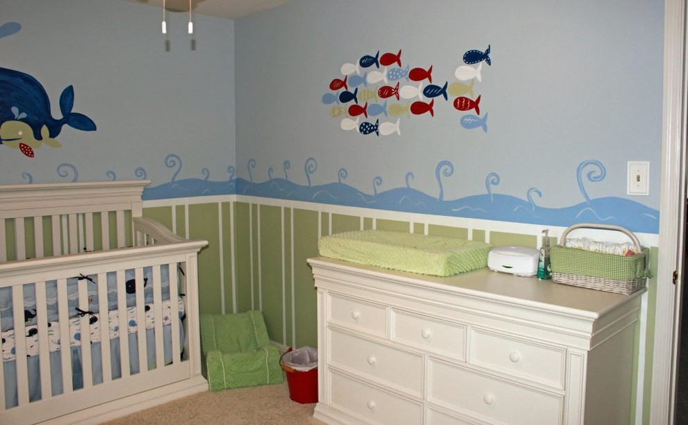 Kids Room Whale Theme