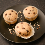 Muffin noisettes chocolat anais patisse patisserie vegan strasbourg