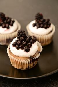 Cupcake myrtille anais patisse patisserie vegan strasbourg