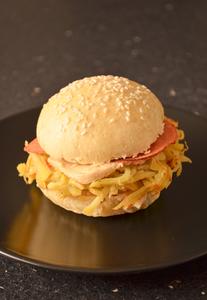Burger hivernal anais patisse patisserie vegan strasbourg