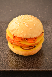 Burger automnal patate douce anais patisse patisserie vegan strasbourg