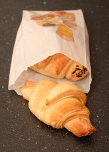 Croissant nature anais patisse patisserie vegan strasbourg