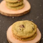 Cookie pistache cranberry anais patisse patisserie vegan strasbourg