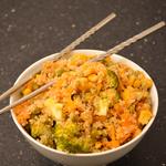 Quinoa facon riz frit anais patisse patisserie vegan strasbourg