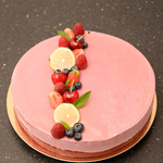 Mousse fruits rouges framboise anais patisse patisserie vegan strasbourg