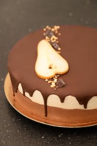 Poirier chocolat poire mousse anais patisse patisserie vegan strasbourg