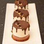 Mousse poire chocolat individuel anais patisse patisserie vegan strasbourg