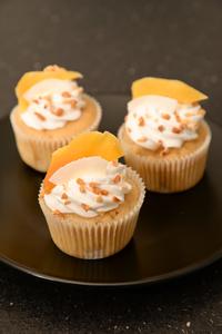 Cupcake mangue coco anais patisse patisserie vegan strasbourg