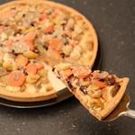 Quiche aux champignons  ch%c3%a2taignes  carottes et cranberries (27)