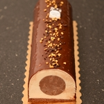 Buche poirier chocolat%c3%a9 anais patisse patisserie vegan strasbourg