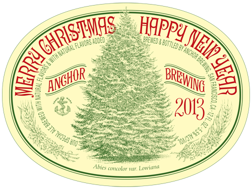 anchor brewing releases the 39th annual christmas ale - Anchor Brewing Christmas Ale