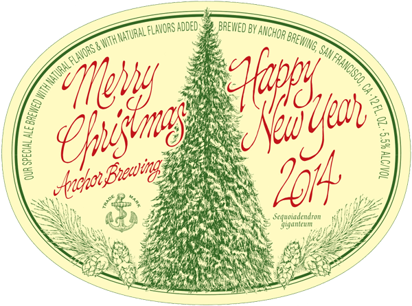 anchor brewing releases the 40th annual christmas ale - Anchor Brewing Christmas Ale