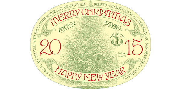 san francisco ca november 2 2015 anchor brewing company announces the release of the 2015 anchor christmas ale a rich complex and dark spiced - Anchor Brewing Christmas Ale