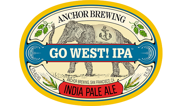 Go West! IPA™ Logo