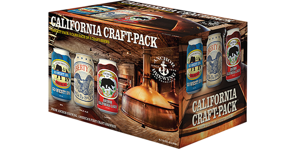 California Craft-Pack Cans