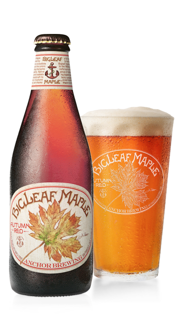 Bigleaf Maple Autumn Red™ Bottleshot - American Red Ale